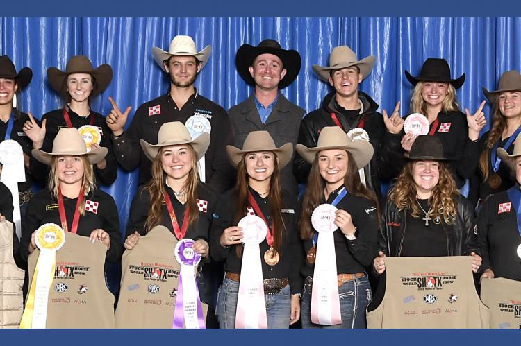 Tech wins Stock Horse of TX Collegiate World Championship