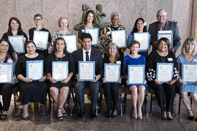 2019 Heroes for Children Award Recipients