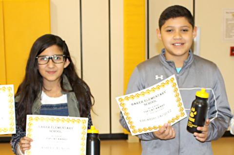 5th Grade: Rogelio Valenzuela, Ashley Avalos, Eduardo Jacquez, Miles Lee