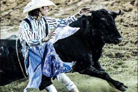 BULLFIGHTER LUKE MASTERS