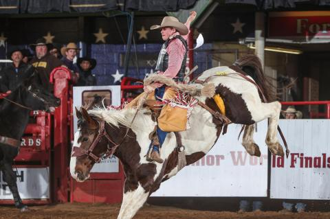 Canadian saddle bronc rider, team roper Benny Proffitt