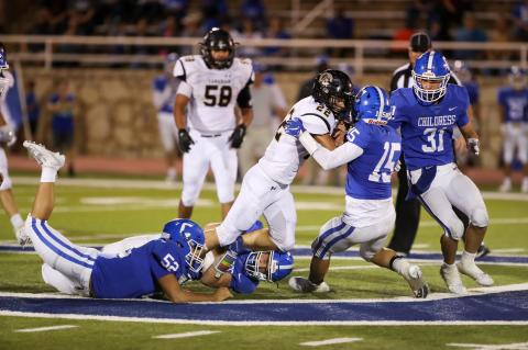 Canadian cruises to victory in district showdown at Childress