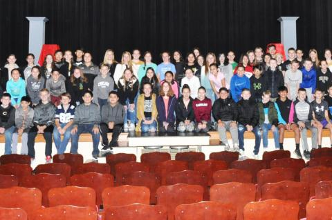 Canadian Middle School students who placed at UIL contest