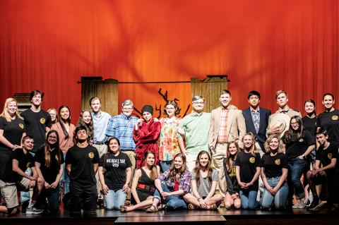 CHS One-Act Play cast and crew