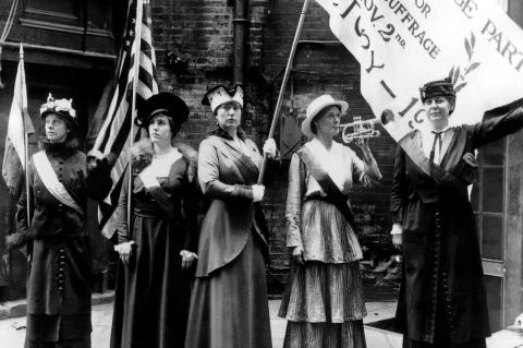 Suffragettes in San Francisco, 1915