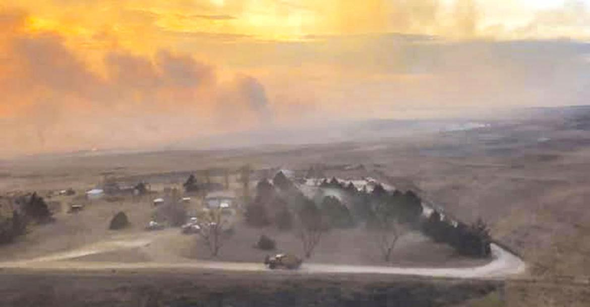 Homes spared, 15,000 acres burned in Nov. 26 wildfire