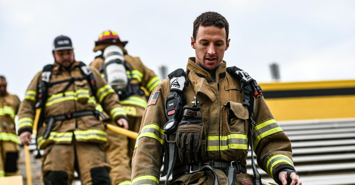 In 15,000 steps, Canadian firefighters pay tribute to NYC 9/11 first responders