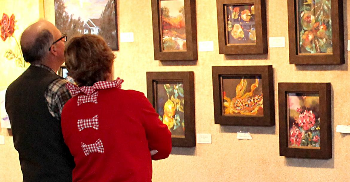 CAA hosted opening reception for local show and sale