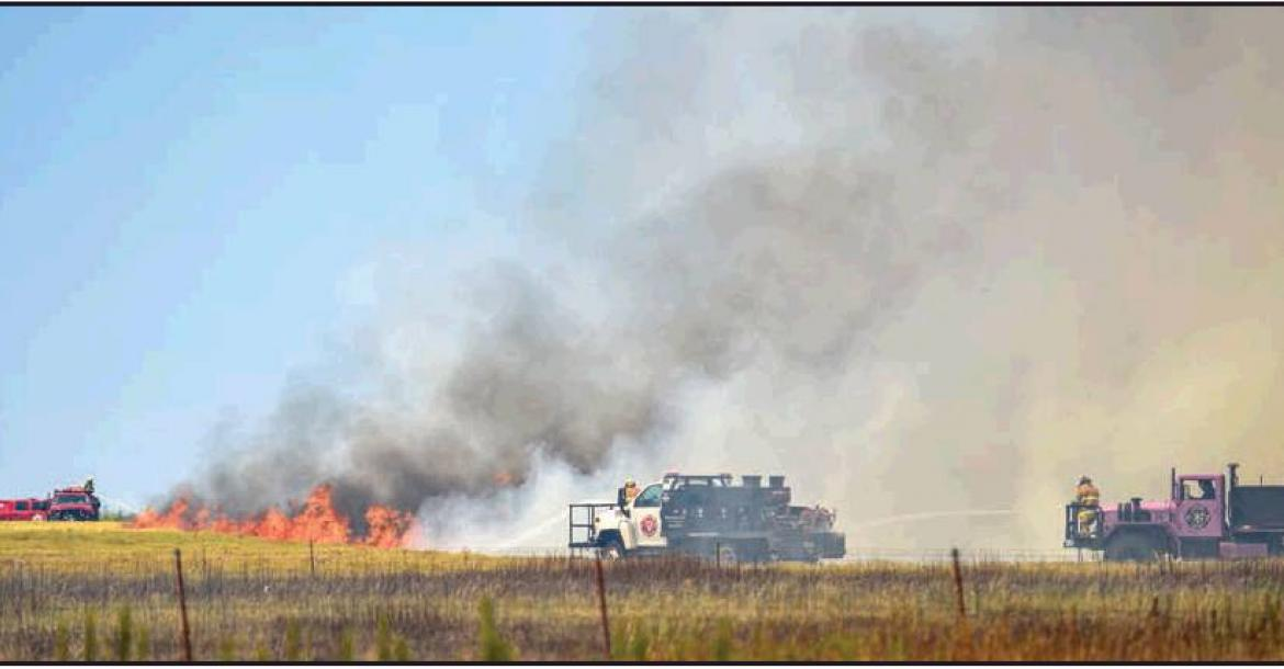 Lightning and triple-digit temperatures prove a dangerous mix for area ranchers and firefighters