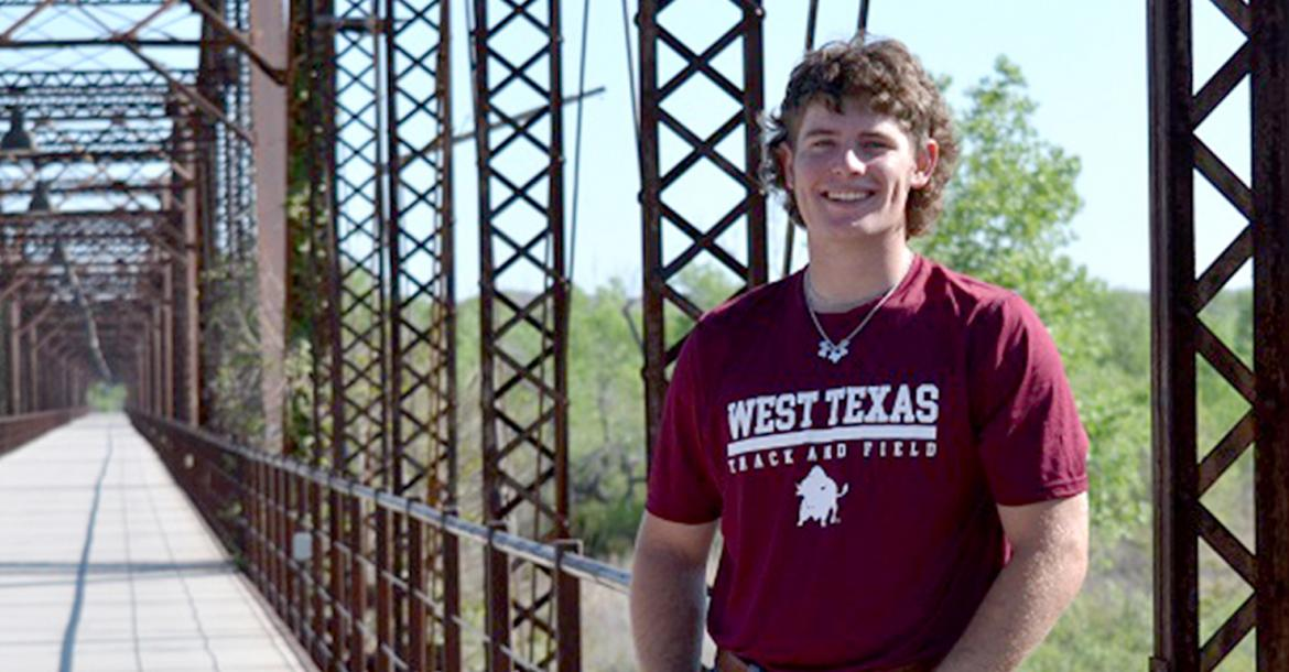 Rhet Pennington signs with WTAMU
