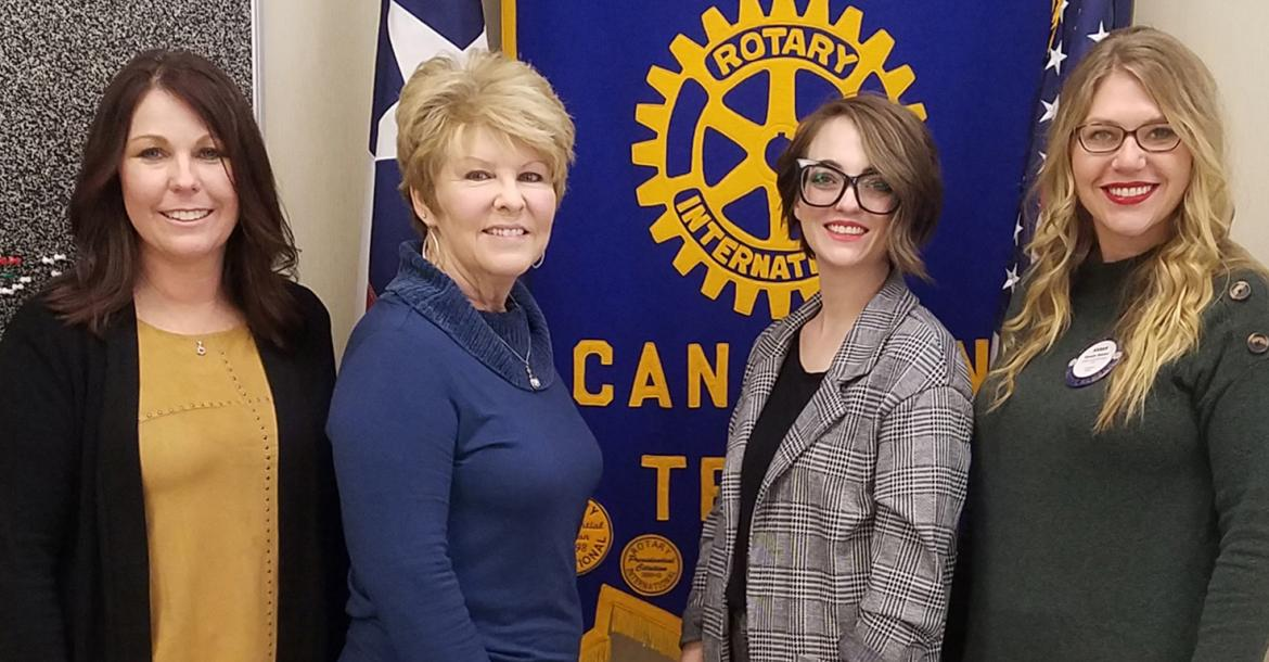 CASA of High Plains visits Rotary
