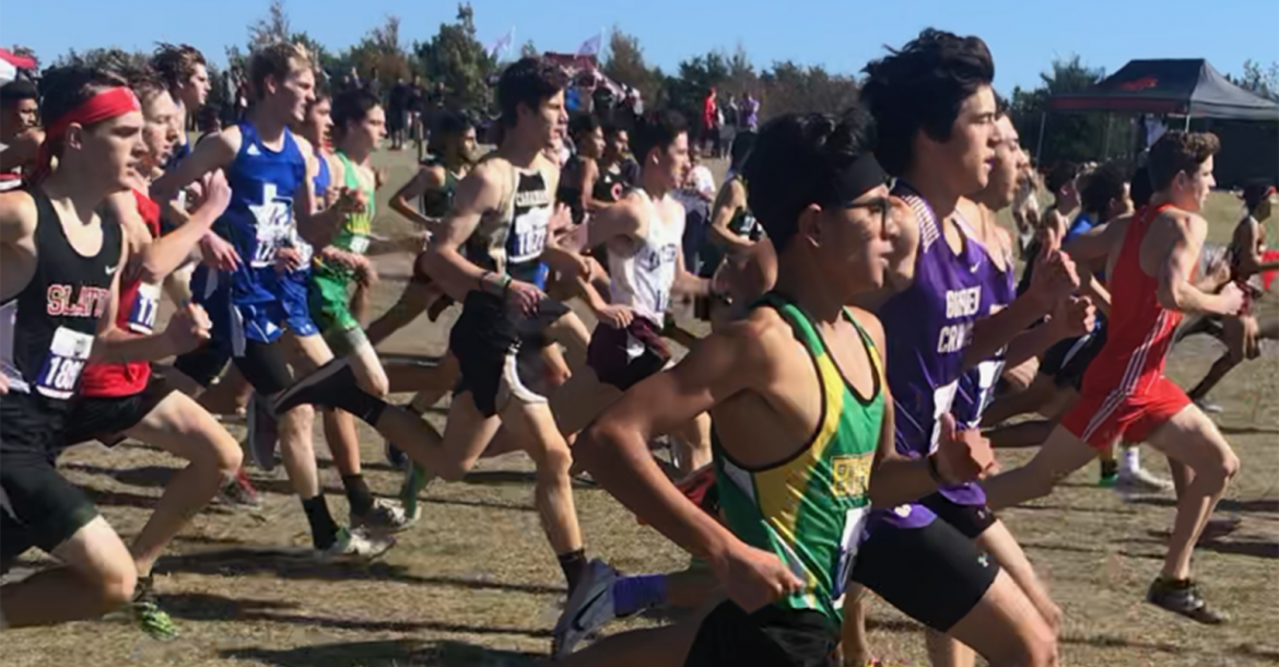 CHS cross-country runner Rylun Clark finishes in top half of field at State UIL meet