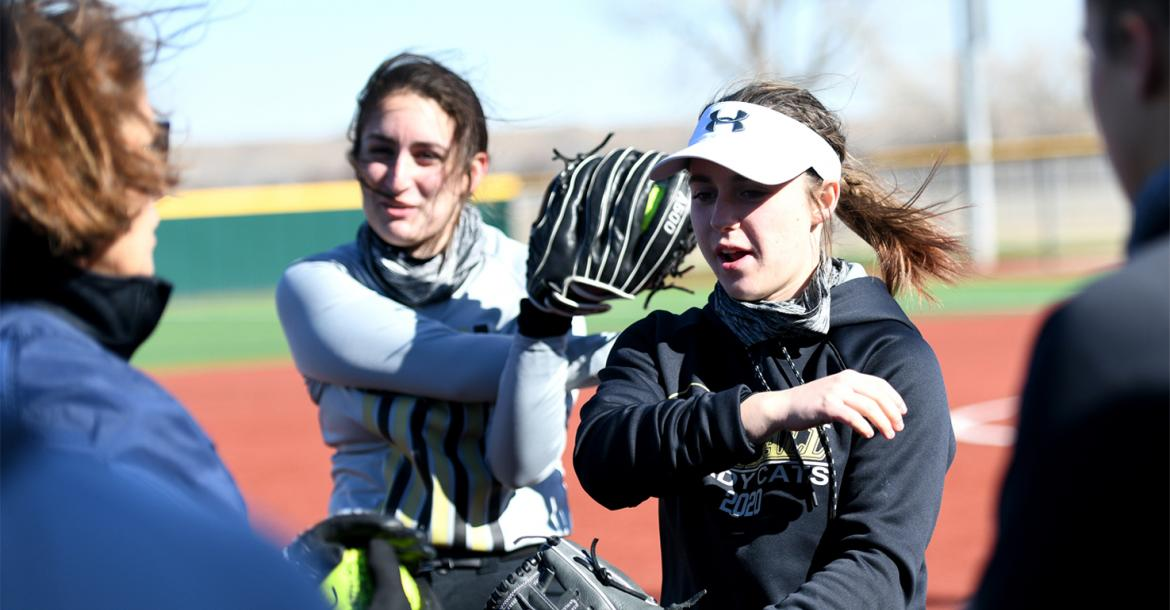 After last week's big chill, Lady Cat softball warms up with extra-inning win at Booker