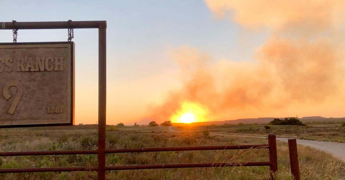 Jackalope Fire in Roberts Co. burns 11,520 acres